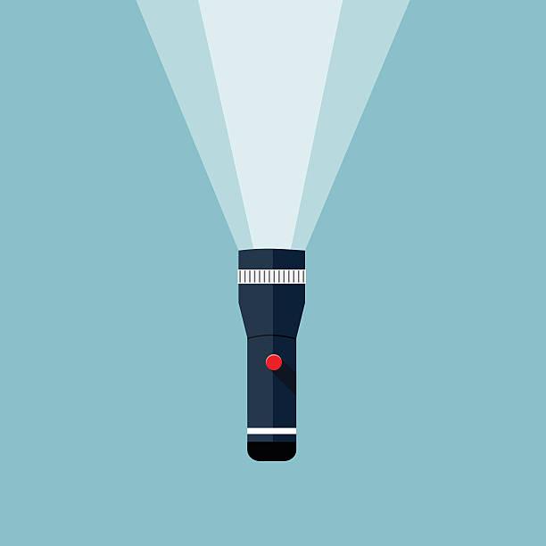 Flashlight illustration. Flashlight illustration. flashlight stock illustrations