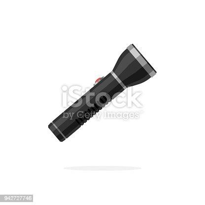 istock Flashlight vector icon 942727746
