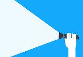 istock Flashlight 1301170279