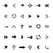Flat Arrows Set