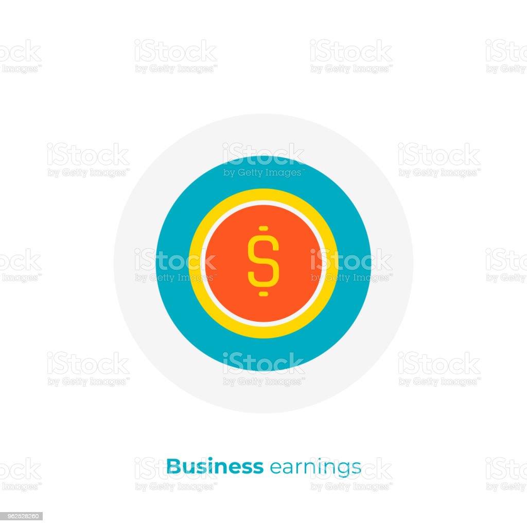 flat art money. Fast money. Scalable vector icon in modern cartoon style. flat elements vector illustration. - Royalty-free Bank Deposit Slip stock vector