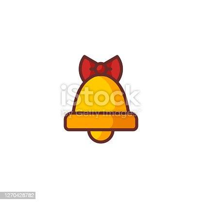 istock Flat Bell Icon 1270428782