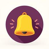 istock Flat Bell Icon 493500643