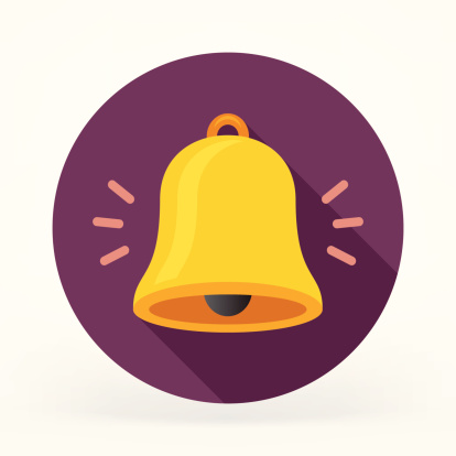 Flat Bell Icon