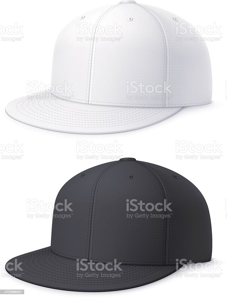 Flat bill cap - Royalty-free Clipart vectorkunst