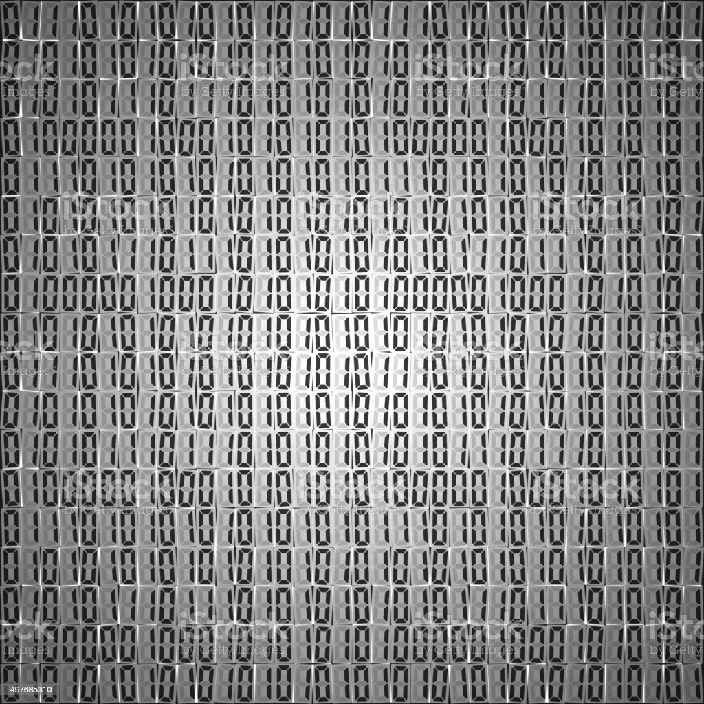 Flat Binary Code Screen Table Cypher Stock Vector Art More Images