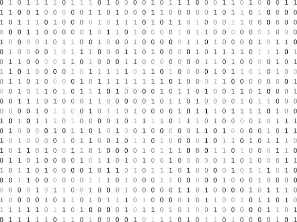 Royalty Free Binary Code Clip Art, Vector Images ...