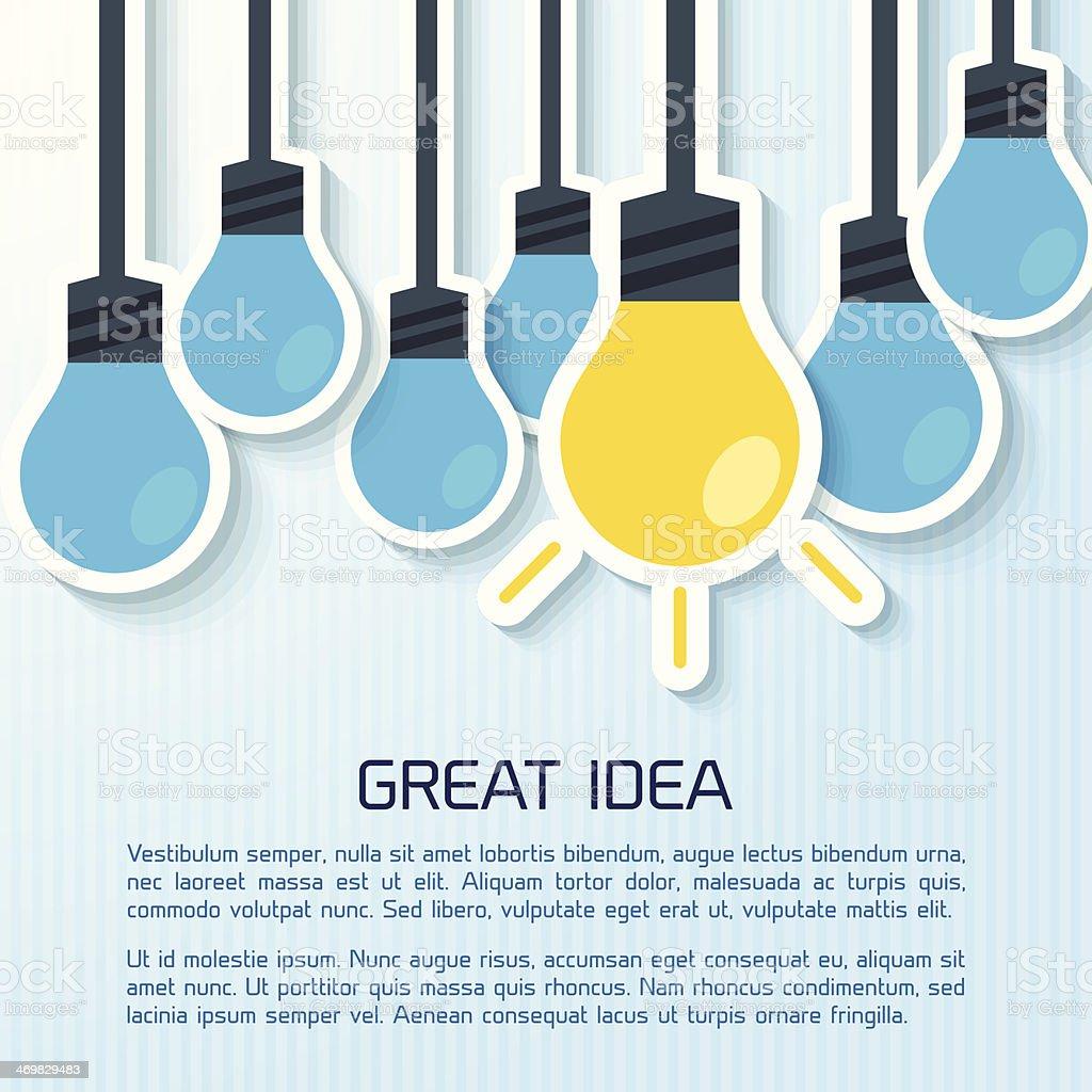 Flat Business Infographic fondo - ilustración de arte vectorial