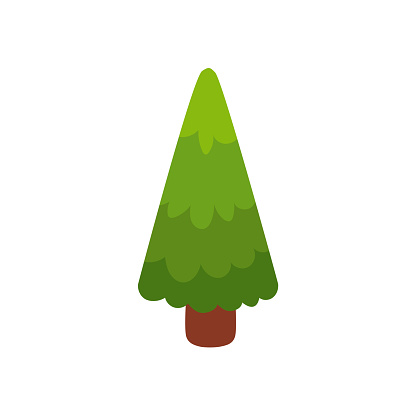 Flat Cartoon Comic Style Green Fir Tree Pine Stock Illustration Download Image Now Istock Pine tree cartoon 1 of 34. https www istockphoto com vector flat cartoon comic style green fir tree pine gm865672696 144065383