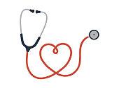 istock Flat cartoon style Stethoscope icon sign. Healthcare head logo symbol image. Vector illustration. Isolated on white background. 1190332152