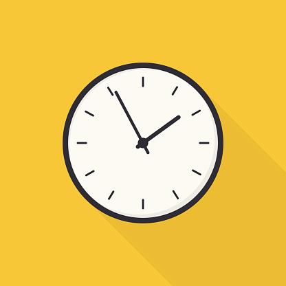Flat Wall Clock (EPS 10)