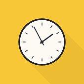 istock Flat Clock 630010448