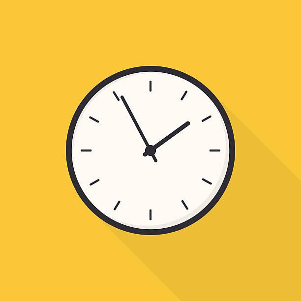 Royalty Free Wall Clock Clip Art, Vector Images & Illustrations - iStock