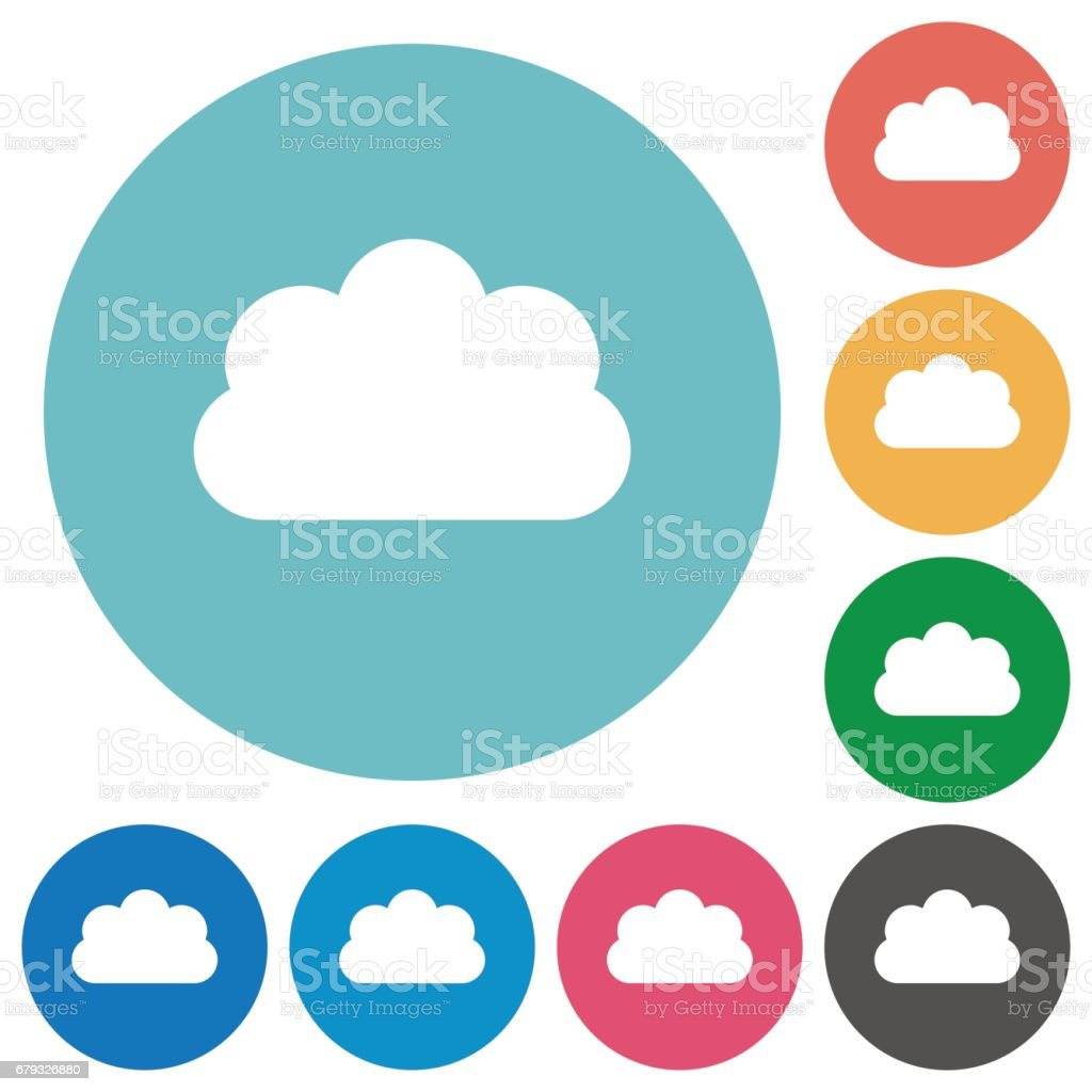 Flat cloud icons royalty-free flat cloud icons stock vector art & more images of applying