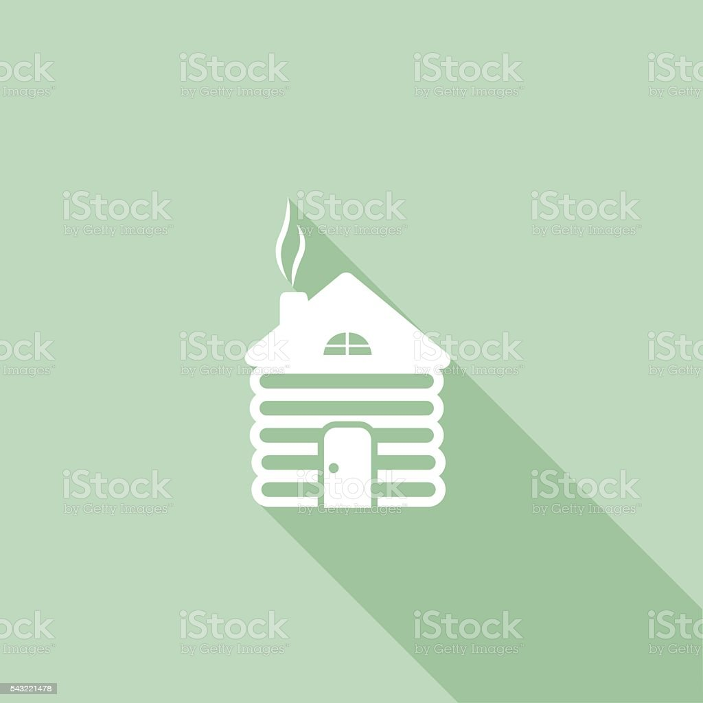 Flat Color Ui Long Shadow Website Christmas Icon stock vector art ...