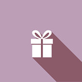 istock Flat Color UI Long Shadow Website Wedding Icon 543830508
