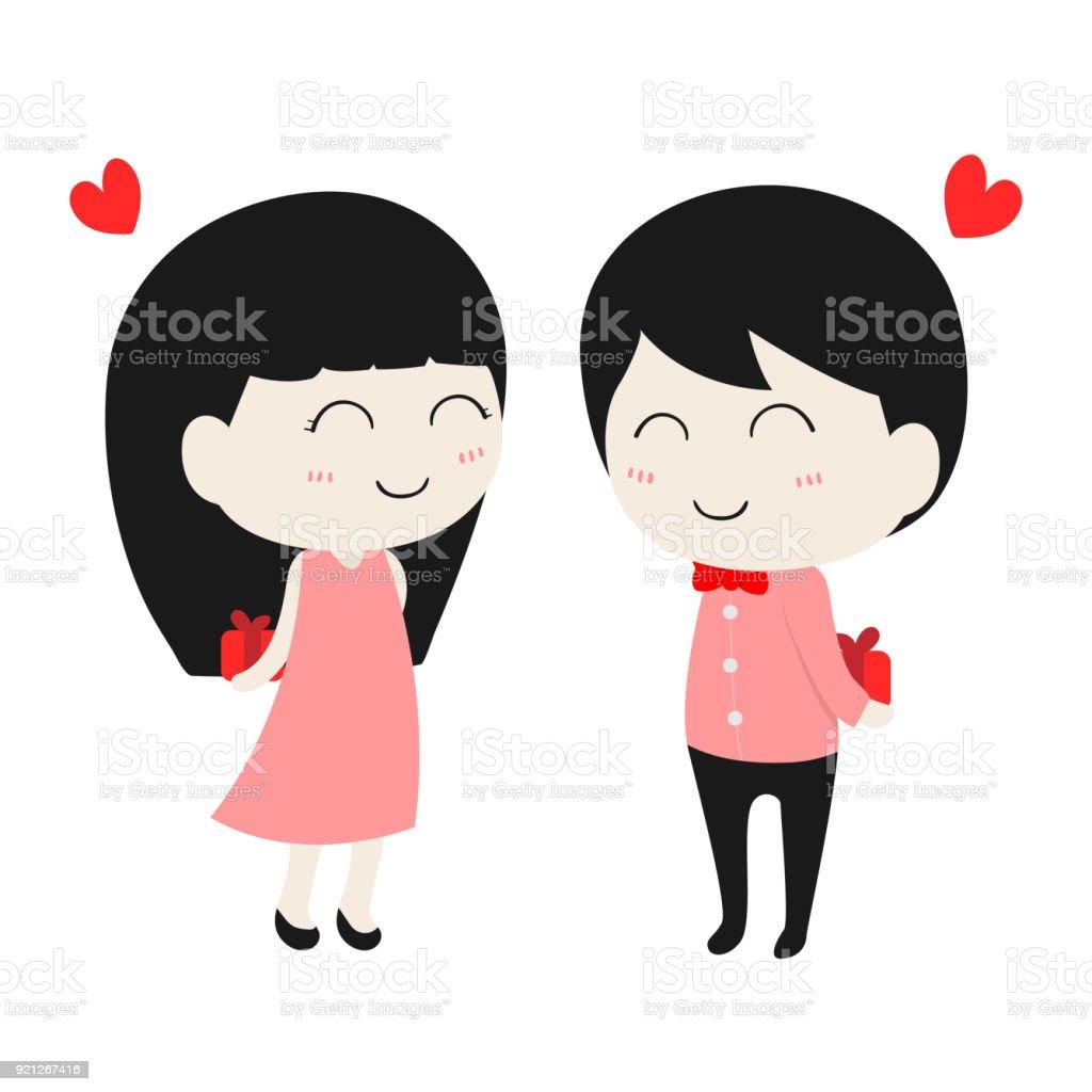 Cartoon Characters Couples : Cute cartoon characters in love ankaperla