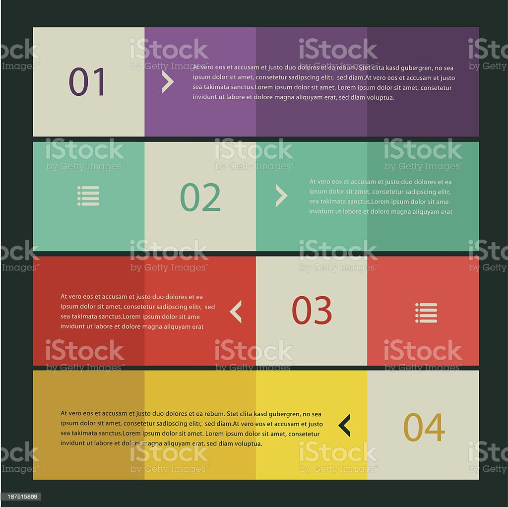 Flat design banners royalty-free flat design banners stock vector art & more images of business