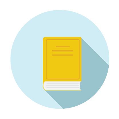 Flat Design Book Icon