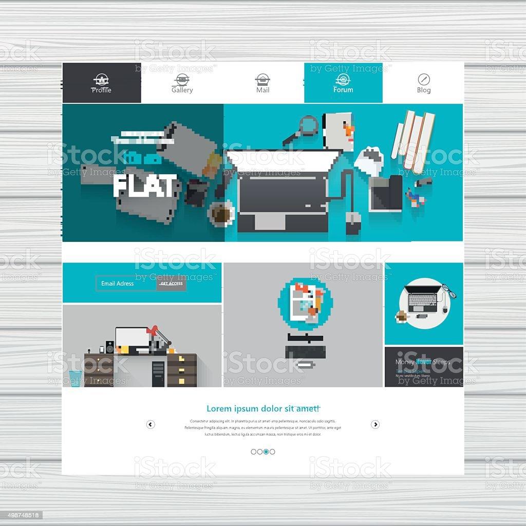 сайта графика шаблон дизайн