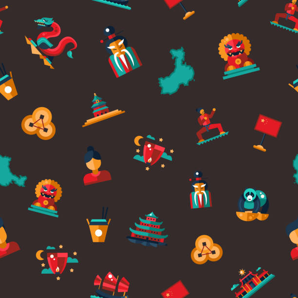 Royalty Free Foo Dog Clip Art Vector Images Illustrations Istock