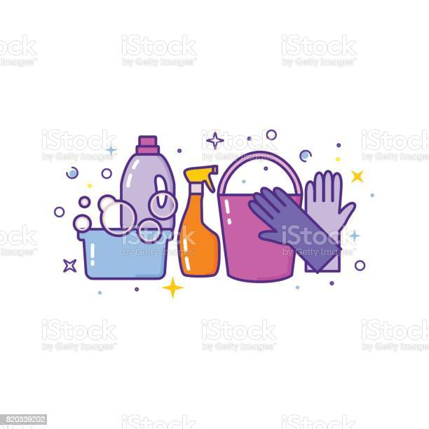 Flat design logo for cleaning service isolated on white vector id820339202?b=1&k=6&m=820339202&s=612x612&h=b9 afejpws izma80 5v2wy8rygnqplxlhif8zg459o=