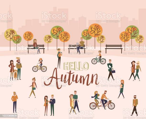 Flat design of group people outdoor in the autumn park on weekend vector id1022069928?b=1&k=6&m=1022069928&s=612x612&h=png56ufyluopxrfgqll1ix6o uracea32fsqn8tz2l8=