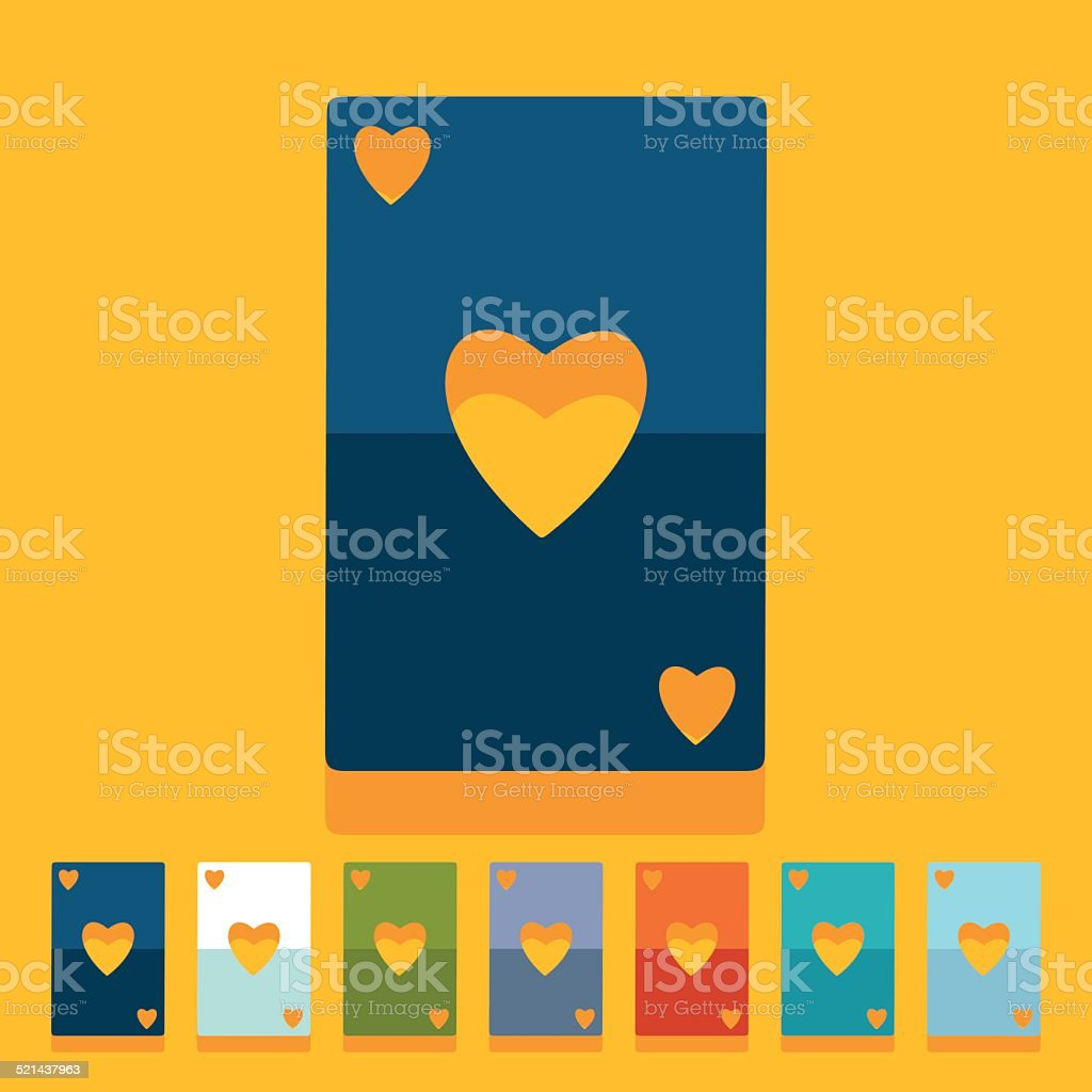 Flat Design Playing Card Stock Illustration Download Image Now Istock