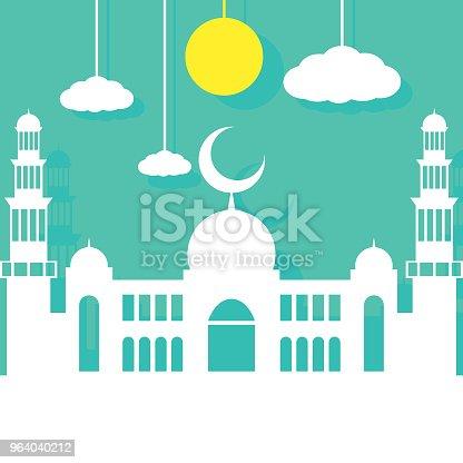istock flat design simple mosque 964040212