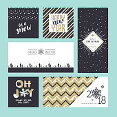 Vector illustration templates for greeting cards, web banner, flayer brochure, party invitation card.