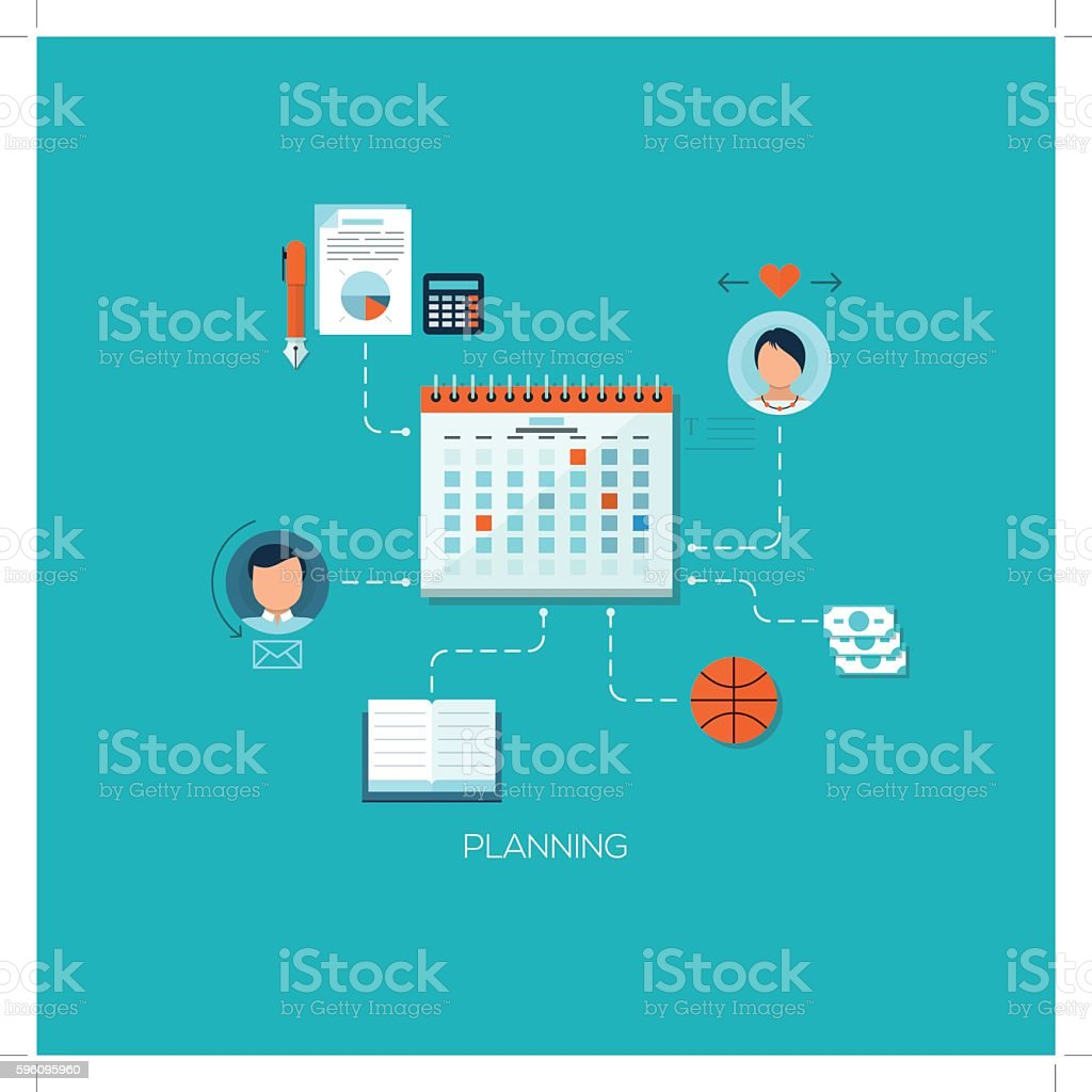 Flat designed concept illustration template for education royalty-free flat designed concept illustration template for education stock vector art & more images of abstract