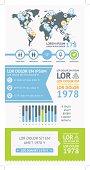 Flat Elements of Infographics