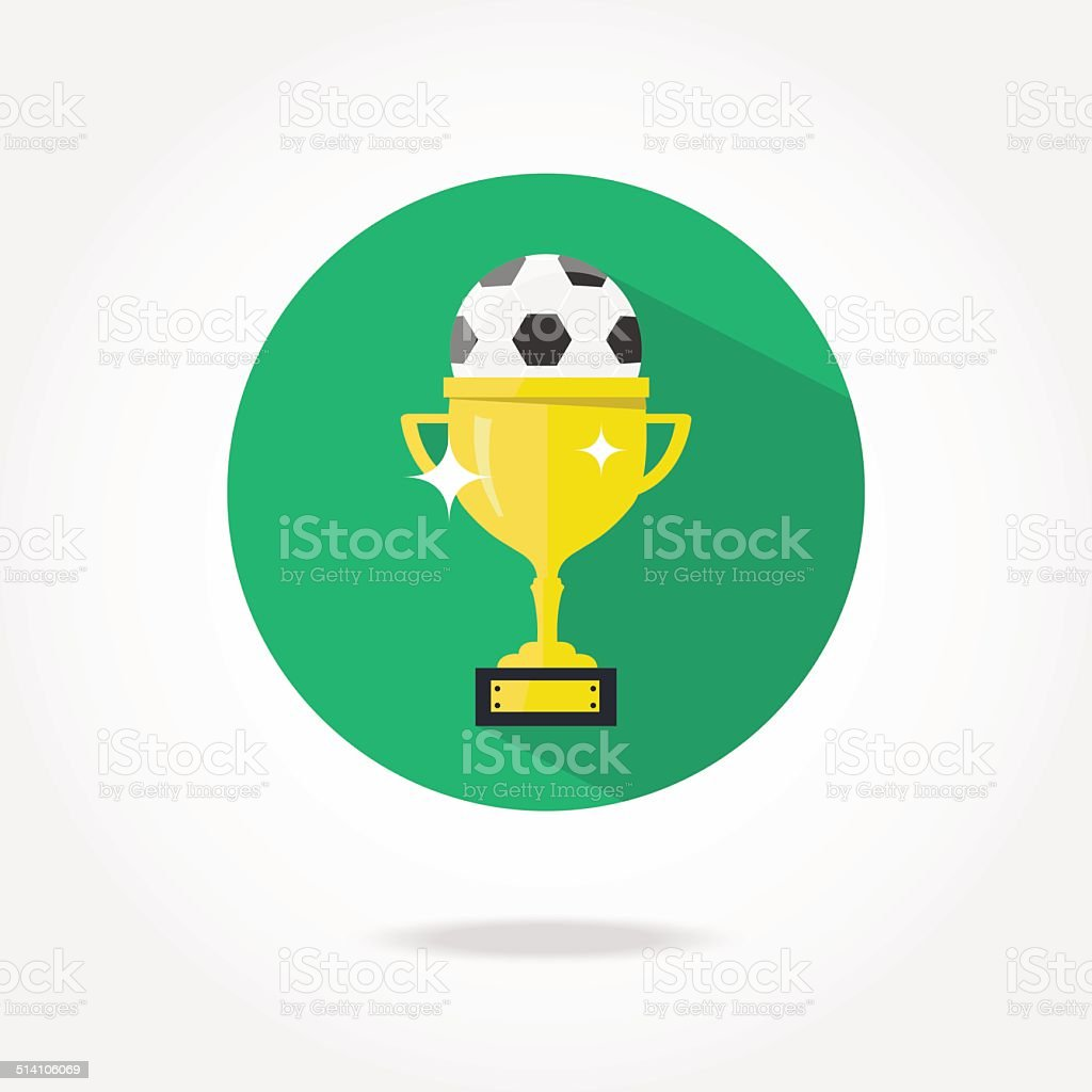 Flat Football Cop Icon Stock Vector Art More Images Of Badge