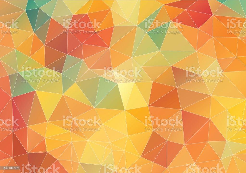 Ilustración De Flat Geometric Triangle Wallpaper Y Más