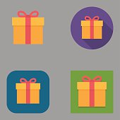 Flat Gift Box icons | Kalaful series