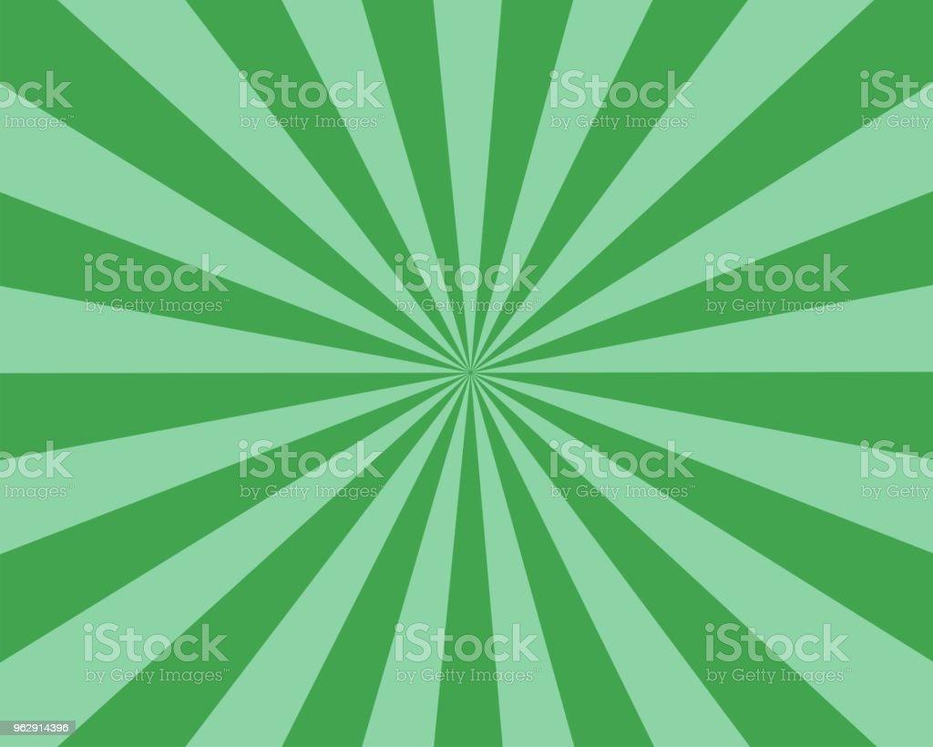 Nombre de rayons plat vert Sunburst vector background sunbeam nombre de rayons plat vert sunburst vector background sunbeam vecteurs libres de droits et plus d'images vectorielles de abstrait libre de droits