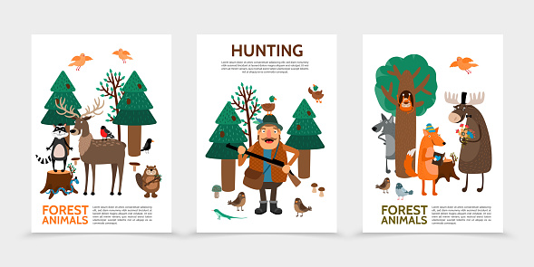 Flat Hunting Posters