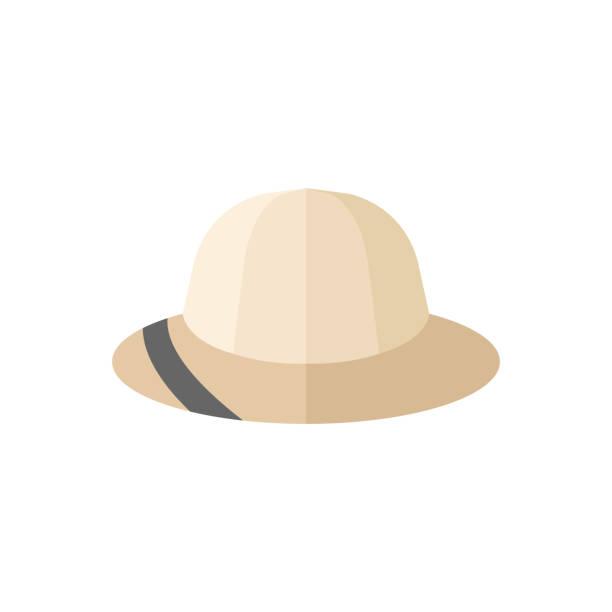 ilustrações, clipart, desenhos animados e ícones de ícone de plano - ícone do safari - explorador