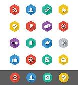 Flat Icon Series: Social Media Icons