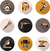 flat icon tools