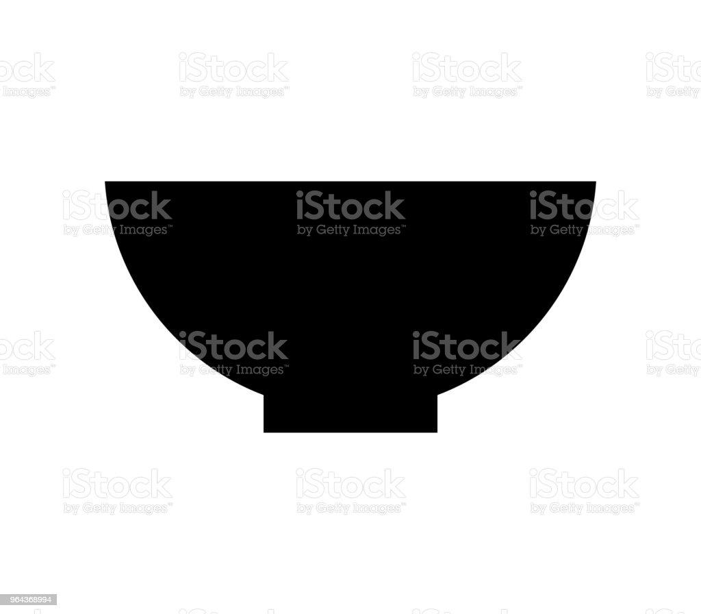 platte pictogram - Royalty-free Bestek vectorkunst