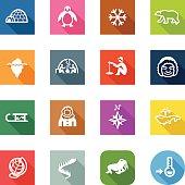 Flat Icons - Arctic
