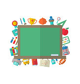 Flat Icons of Blackboard