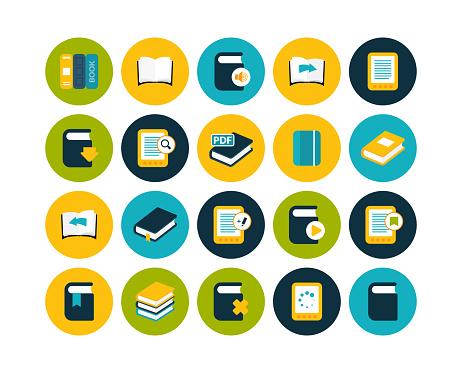 Flat Icons Set 21 Stock Illustration - Download Image Now