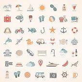 Flat Icons - Summer