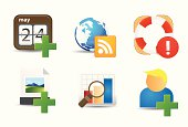 Flat Icons | User Actions