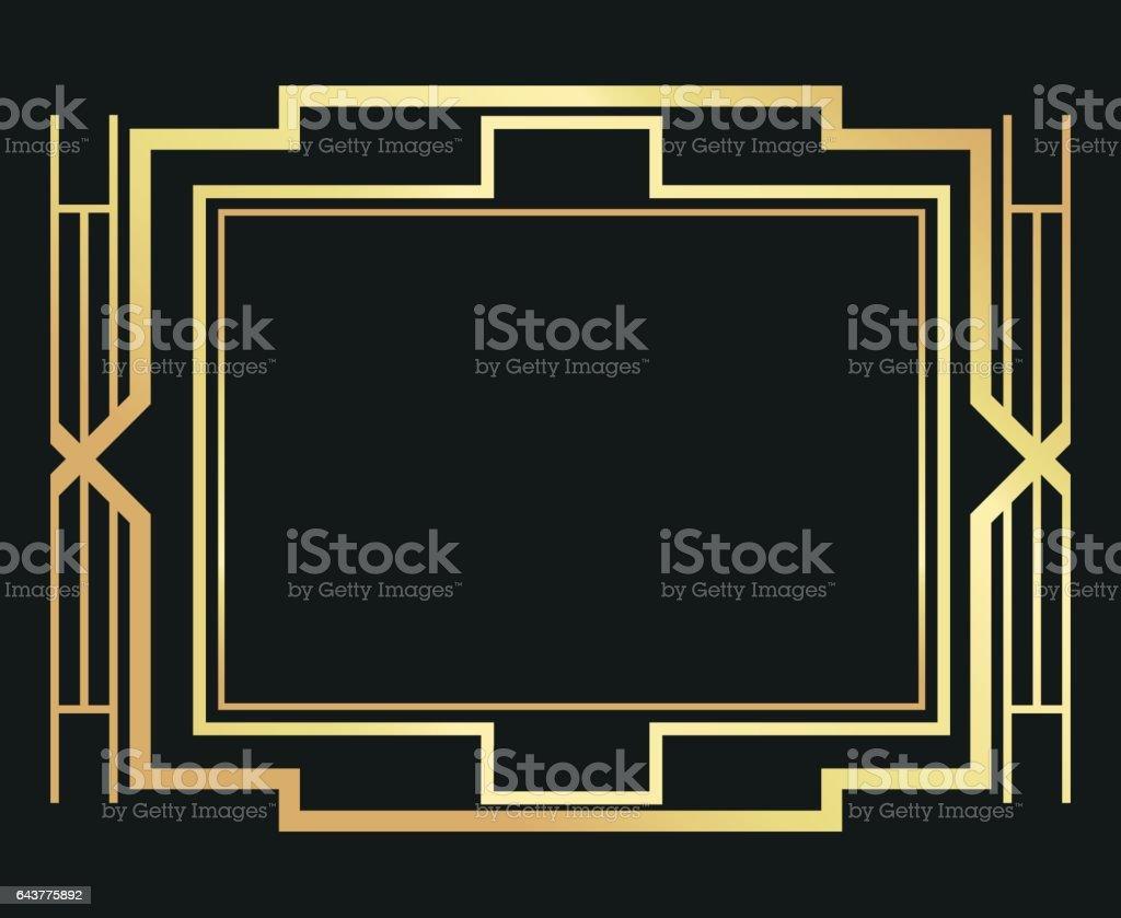 gatsby frame illustrations  royalty
