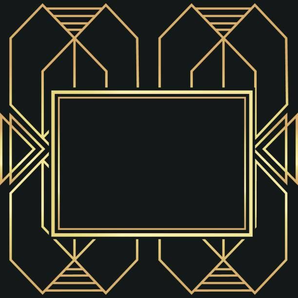 illustrazioni stock, clip art, cartoni animati e icone di tendenza di flat illustration about gatsby background design - xx° secolo