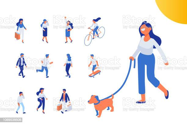 Flat isometric girl walking with dog vector id1069538506?b=1&k=6&m=1069538506&s=612x612&h=ff0lxyd7y bkbrewsarag0vt2pjxkvf02z6inww3aoa=