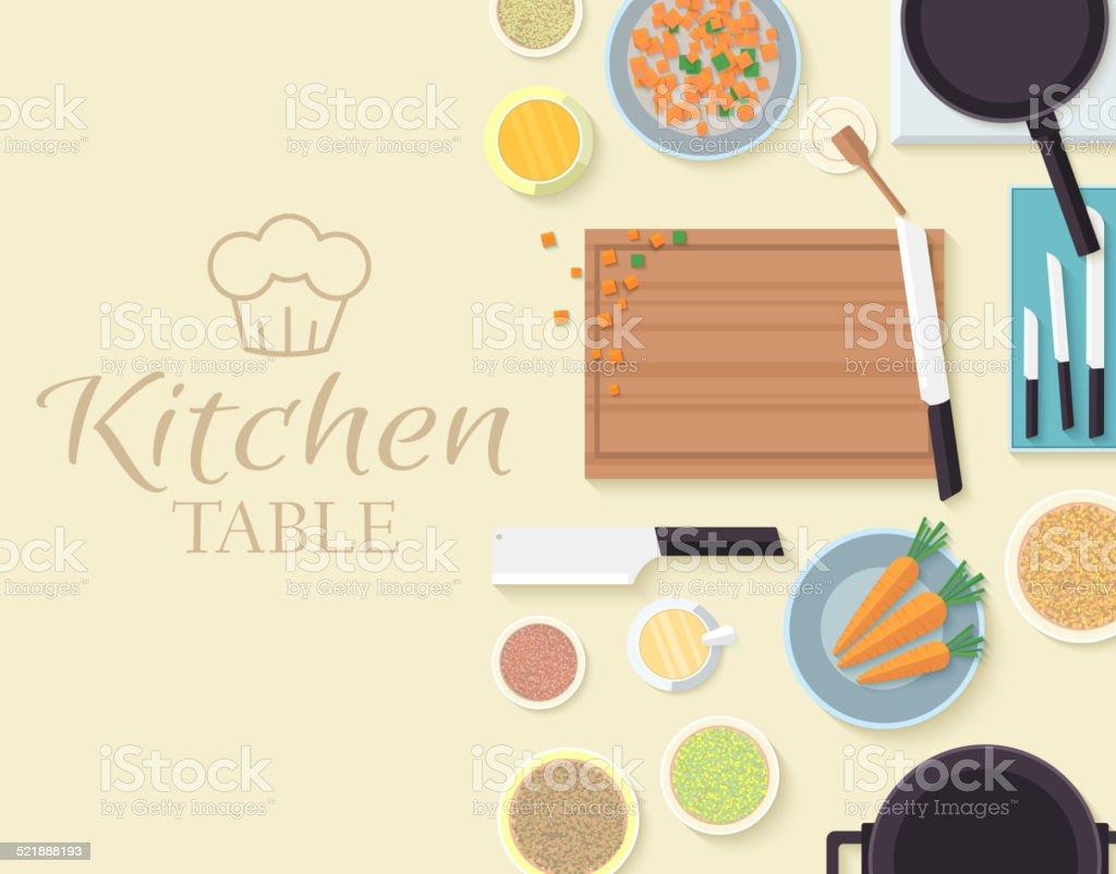 Sport set for Kitchen design vector